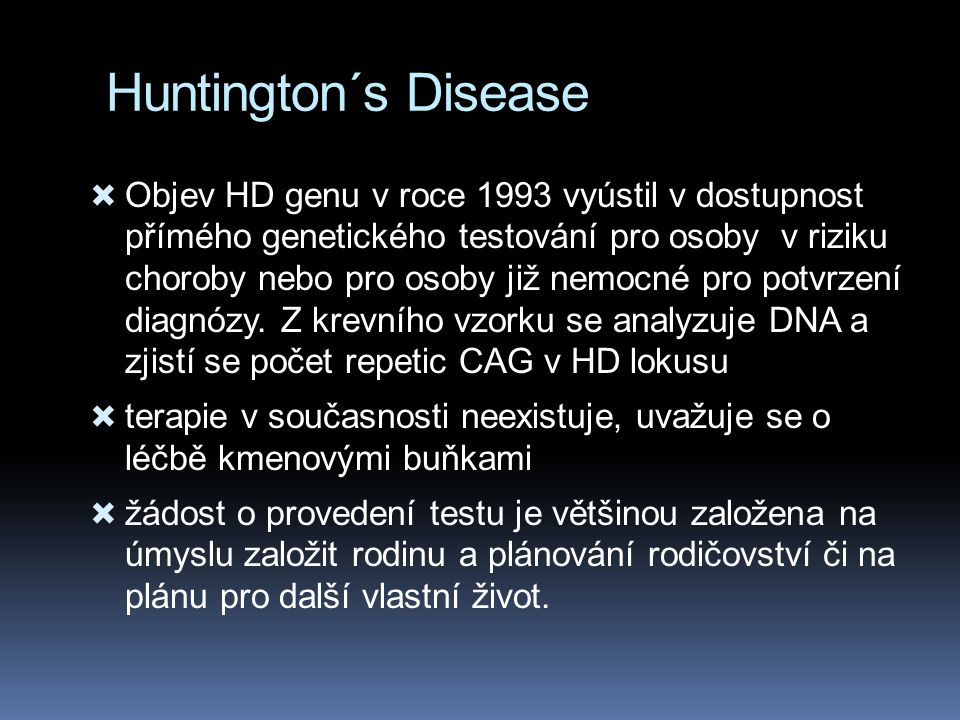 Huntington´s Disease