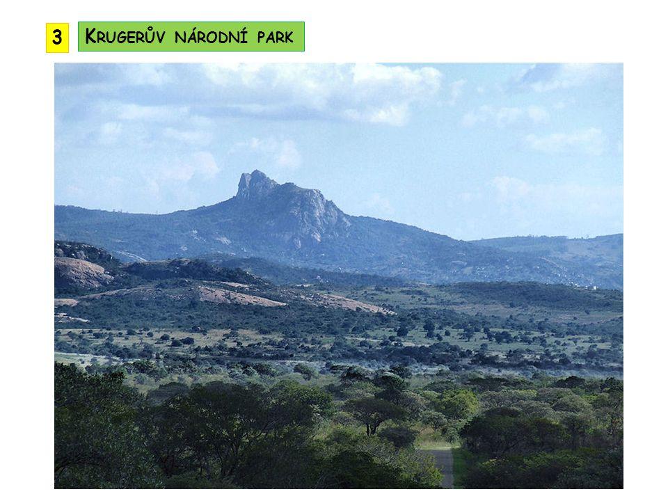 3 Krugerův národní park