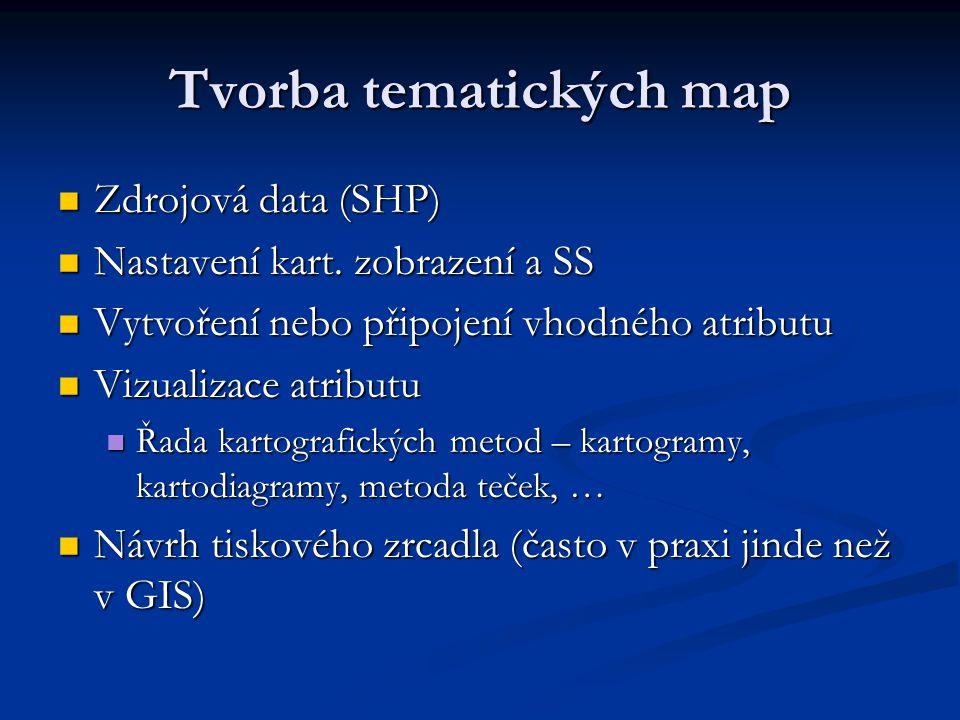 Tvorba tematických map