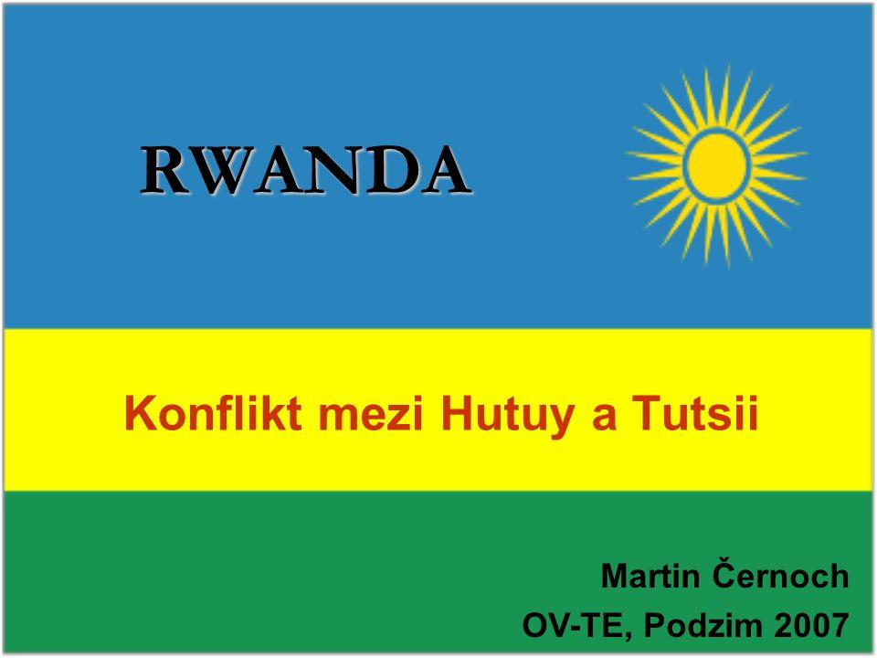 Konflikt mezi Hutuy a Tutsii