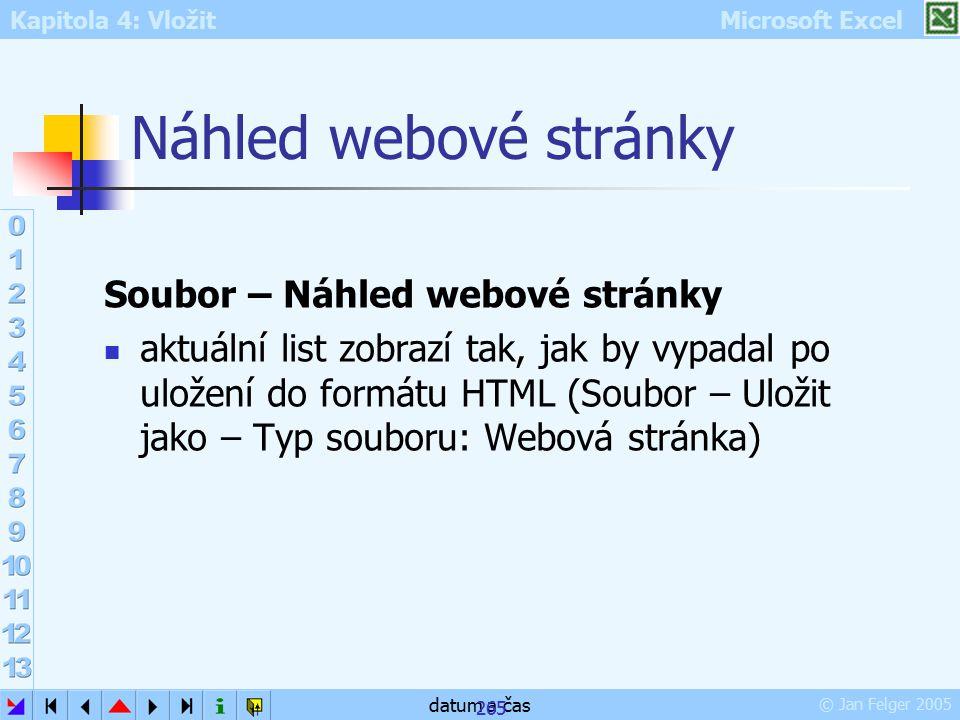 Náhled webové stránky Soubor – Náhled webové stránky