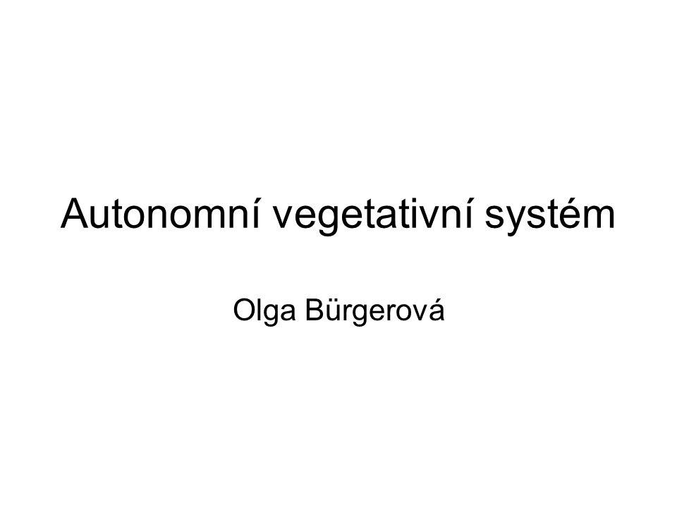 Autonomní vegetativní systém