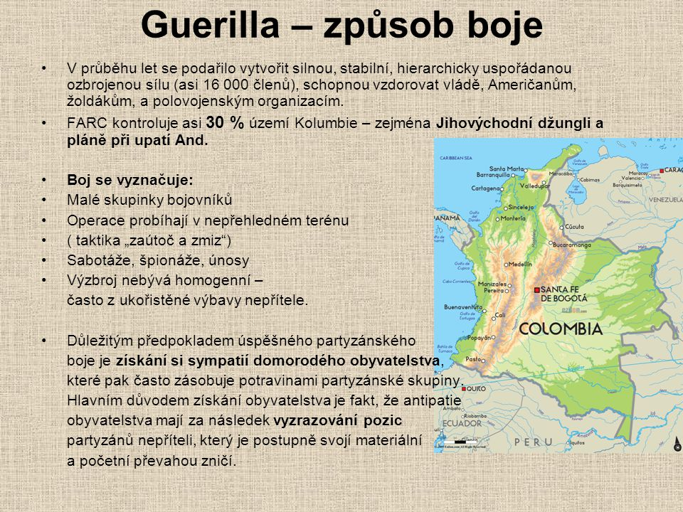 Guerilla – způsob boje
