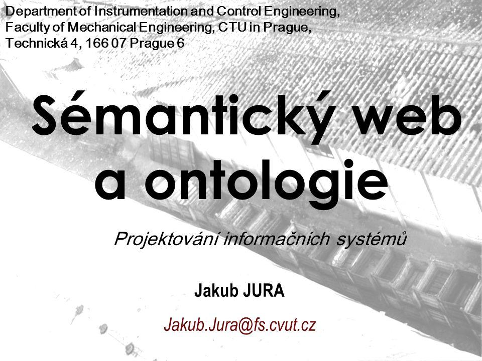 Sémantický web a ontologie