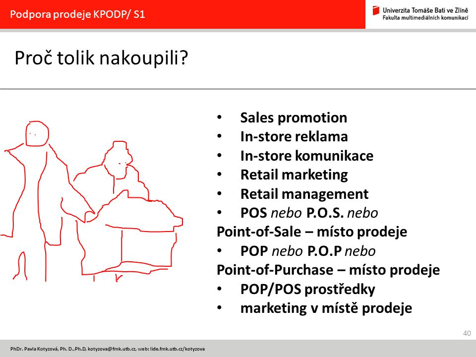 Proč tolik nakoupili Sales promotion In-store reklama