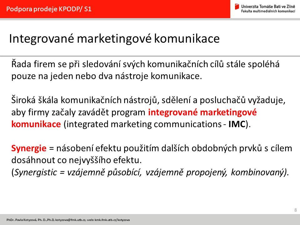 Integrované marketingové komunikace