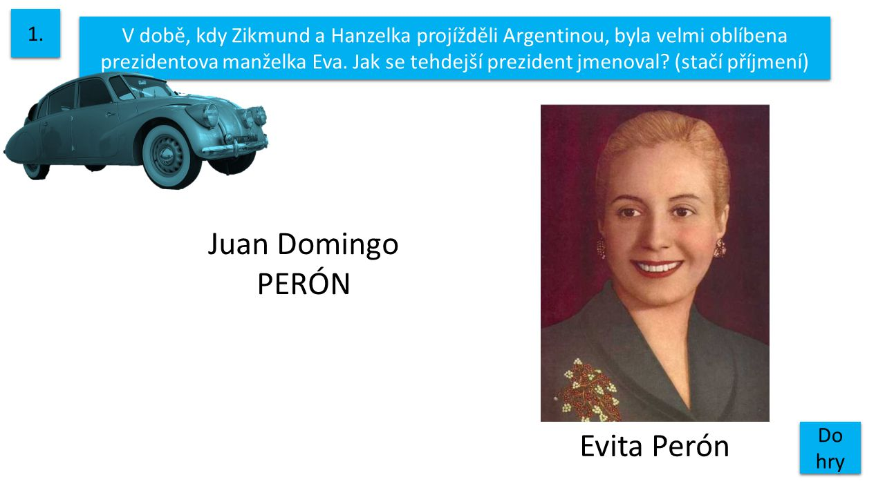 Juan Domingo PERÓN Evita Perón 1.