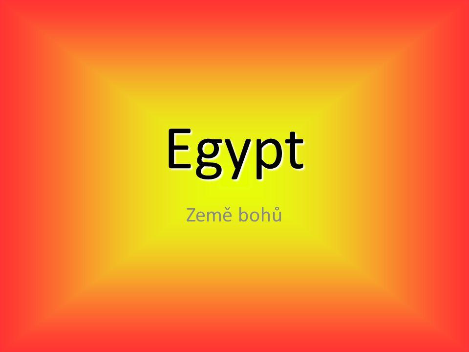 Egypt Země bohů