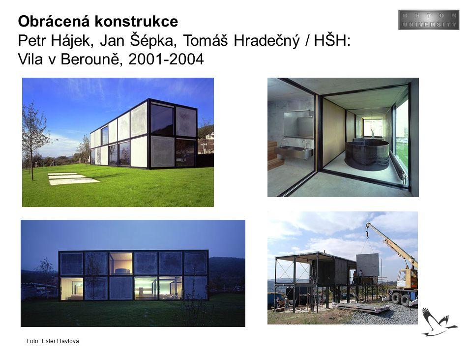 Petr Hájek, Jan Šépka, Tomáš Hradečný / HŠH: Vila v Berouně, 2001-2004
