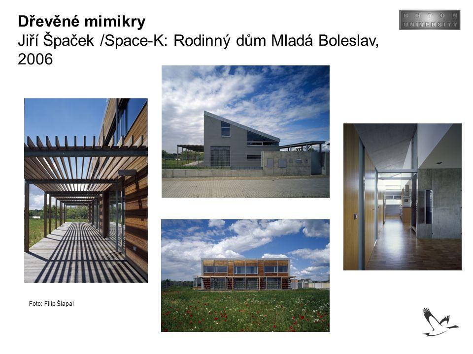 Jiří Špaček /Space-K: Rodinný dům Mladá Boleslav, 2006