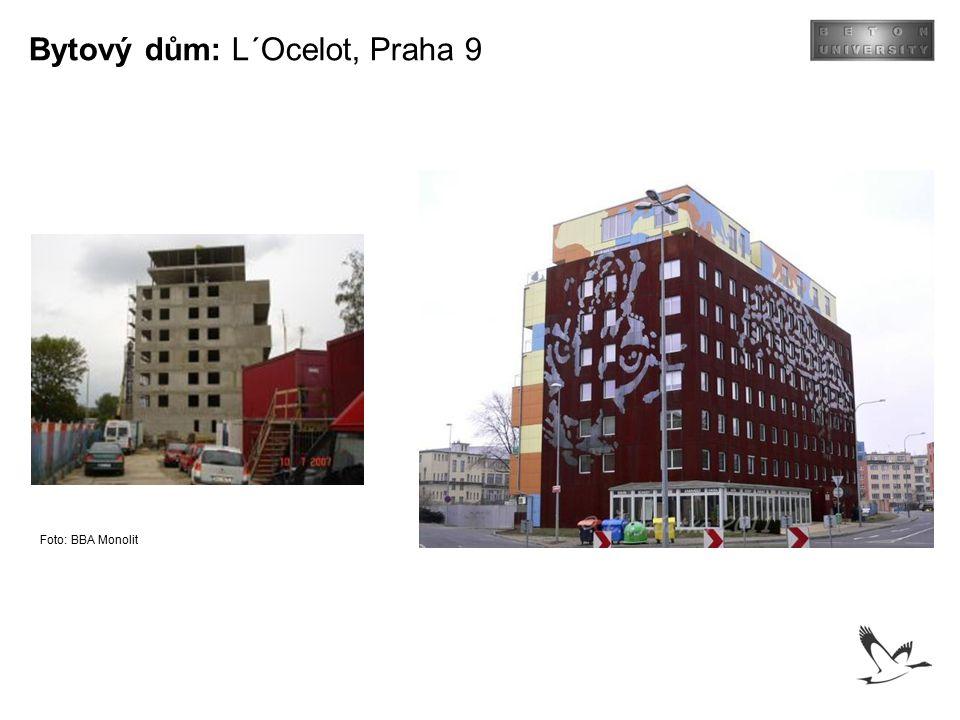 Bytový dům: L´Ocelot, Praha 9