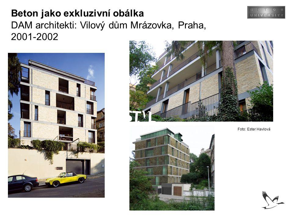 Beton jako exkluzivní obálka