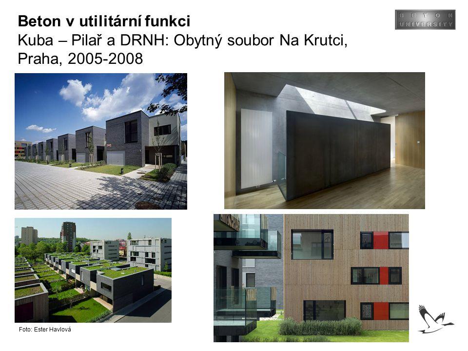 Beton v utilitární funkci