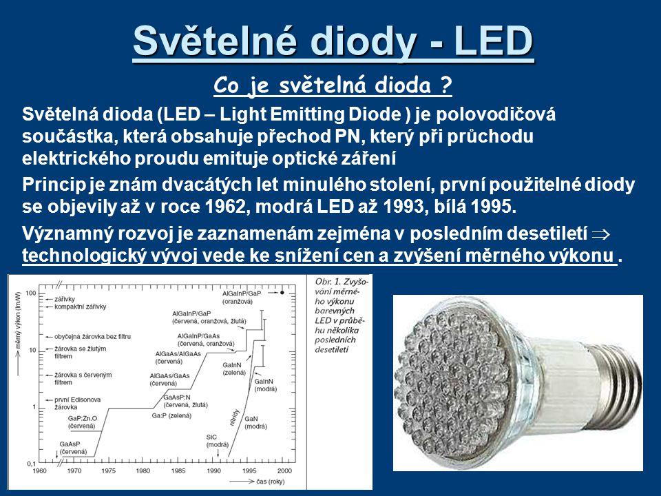 Světelné diody - LED Co je světelná dioda