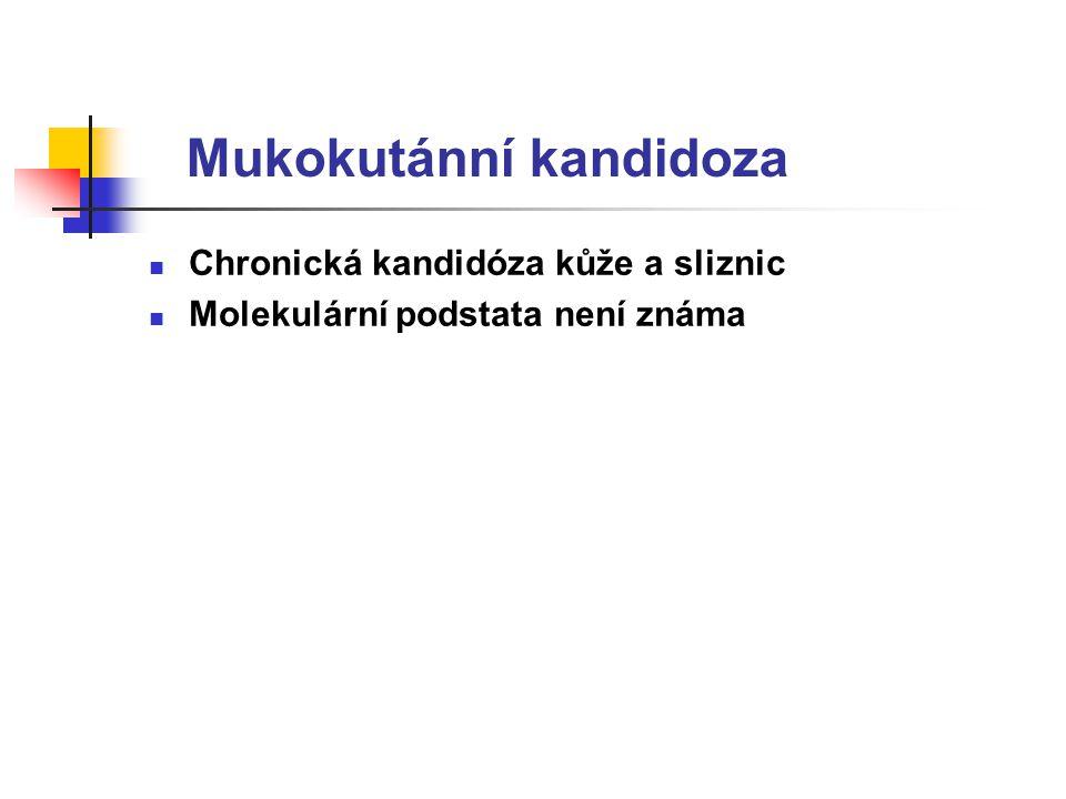 Mukokutánní kandidoza