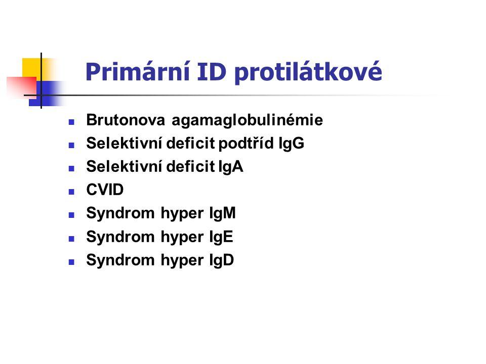 Primární ID protilátkové