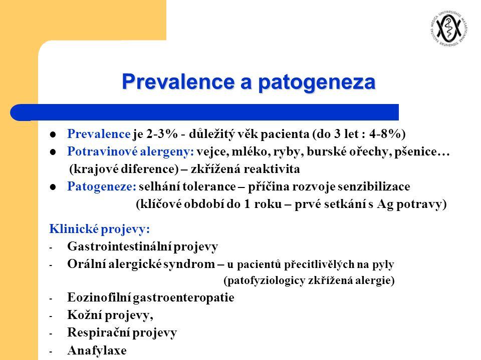 Prevalence a patogeneza