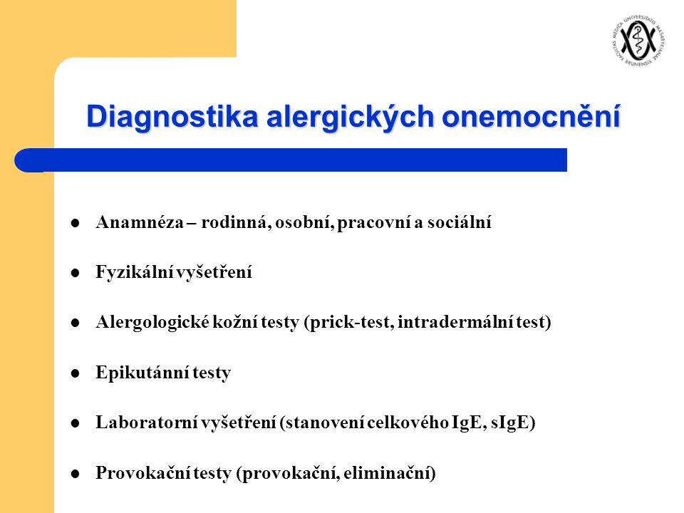 Diagnostika alergických onemocnění