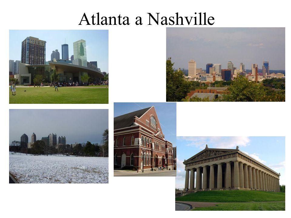 Atlanta a Nashville