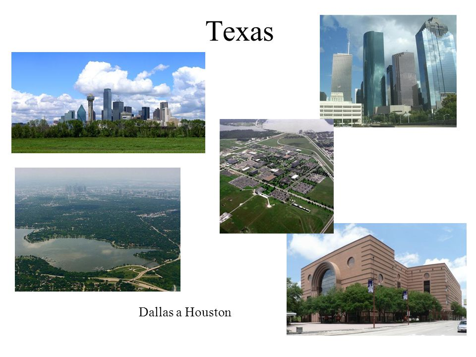 Texas Dallas a Houston