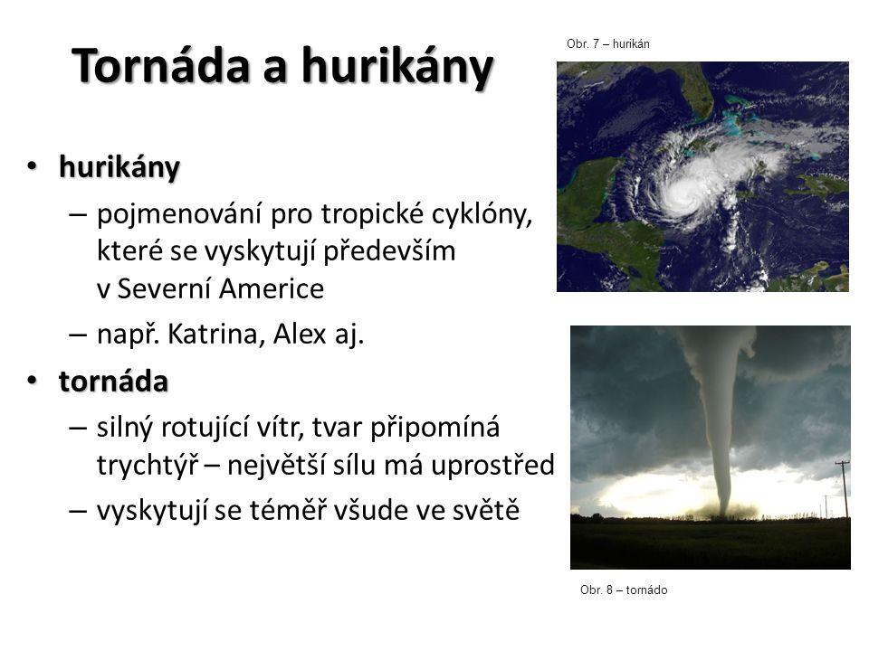 Tornáda a hurikány hurikány tornáda