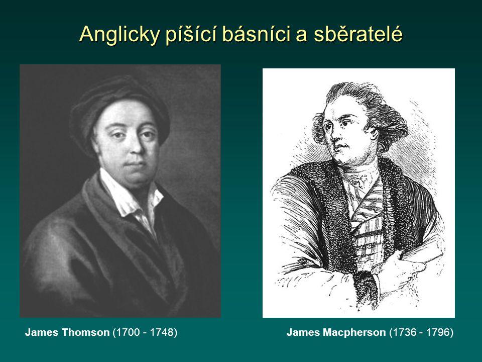 Anglicky píšící básníci a sběratelé