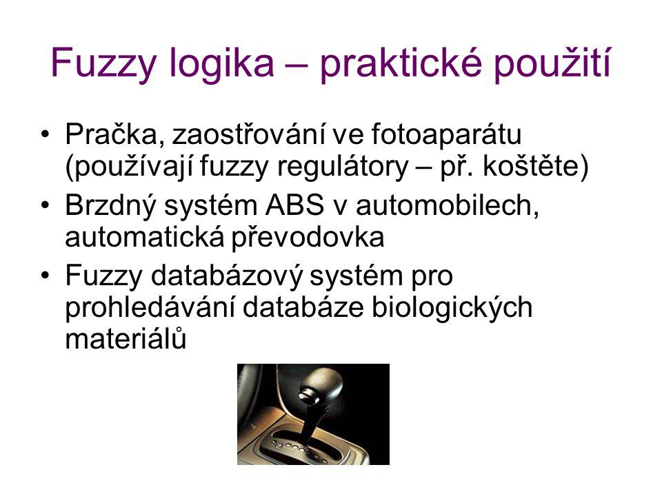Fuzzy logika – praktické použití