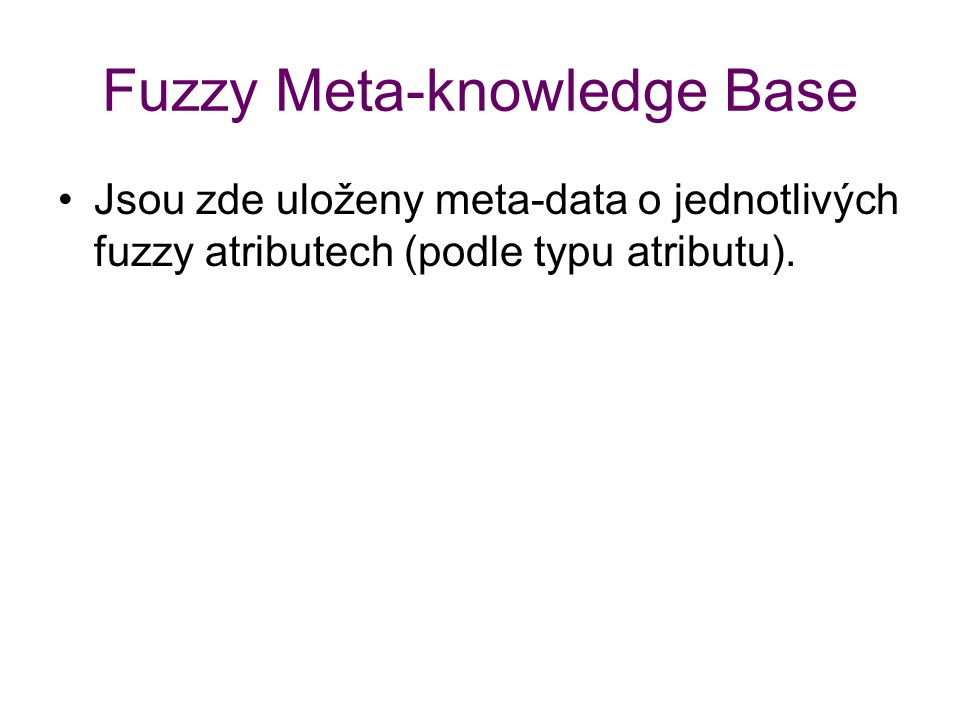 Fuzzy Meta-knowledge Base