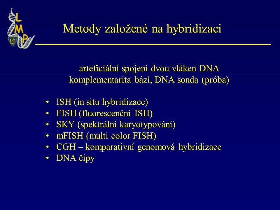 Metody založené na hybridizaci