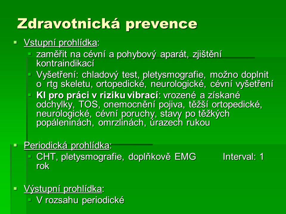 Zdravotnická prevence