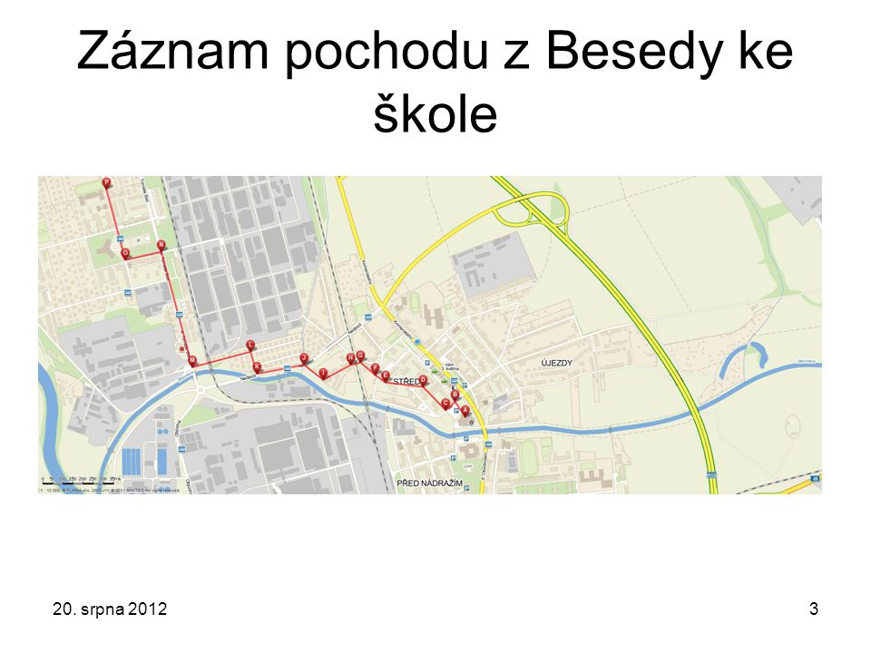 Záznam pochodu z Besedy ke škole