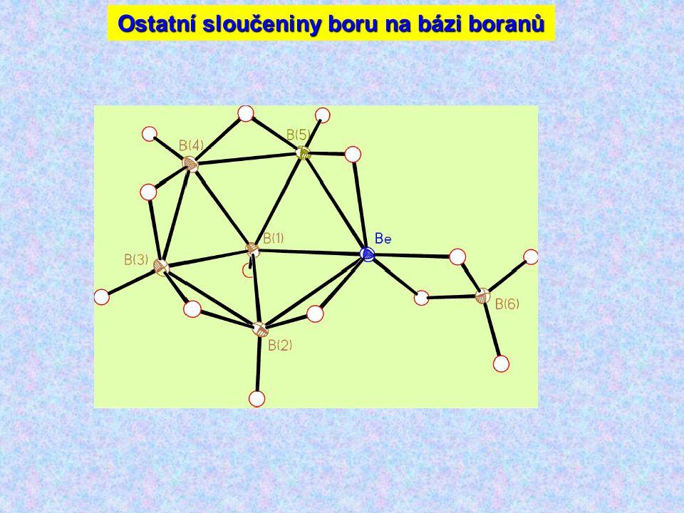 Ostatní sloučeniny boru na bázi boranů
