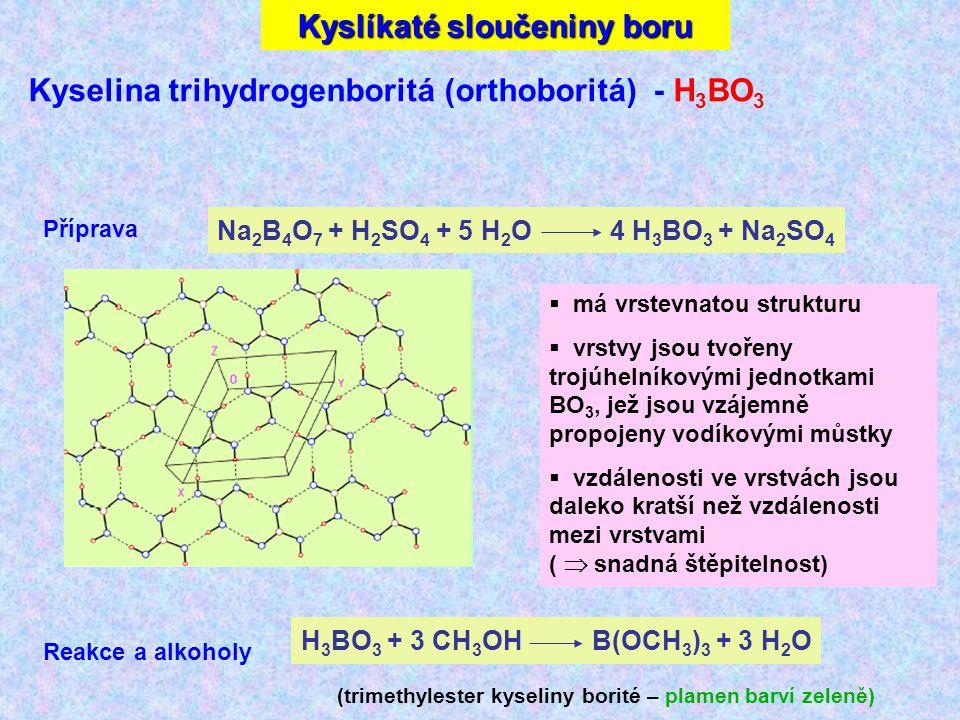 Kyslíkaté sloučeniny boru