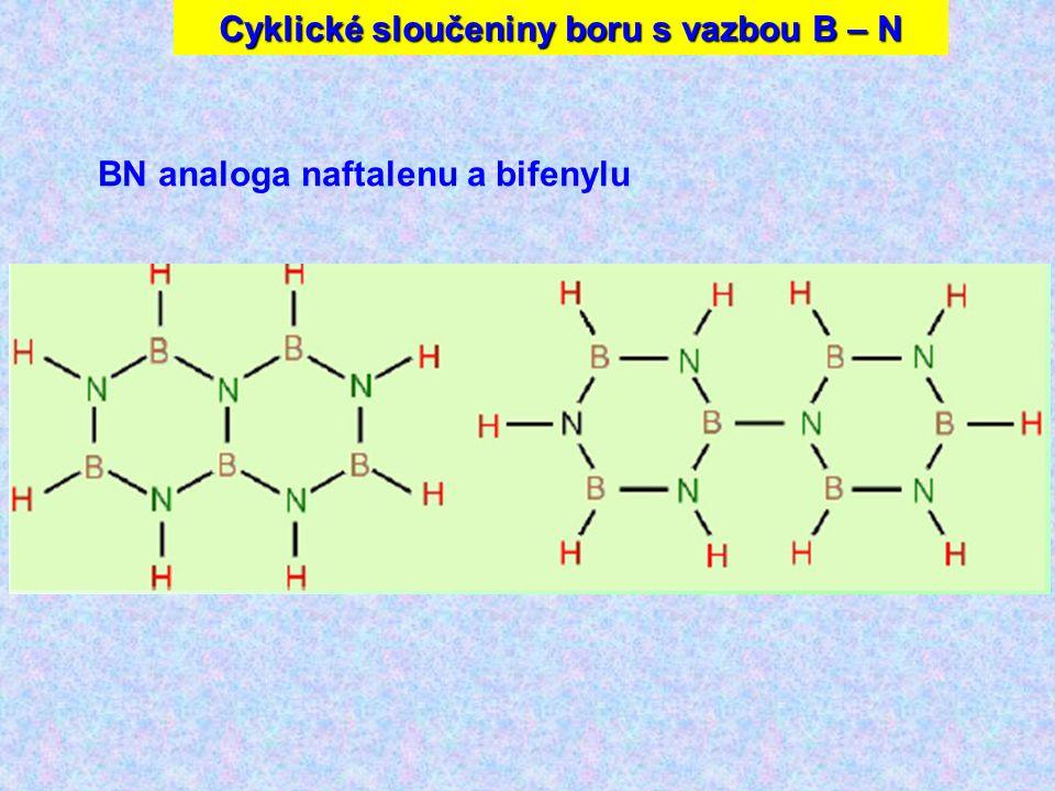 Cyklické sloučeniny boru s vazbou B – N