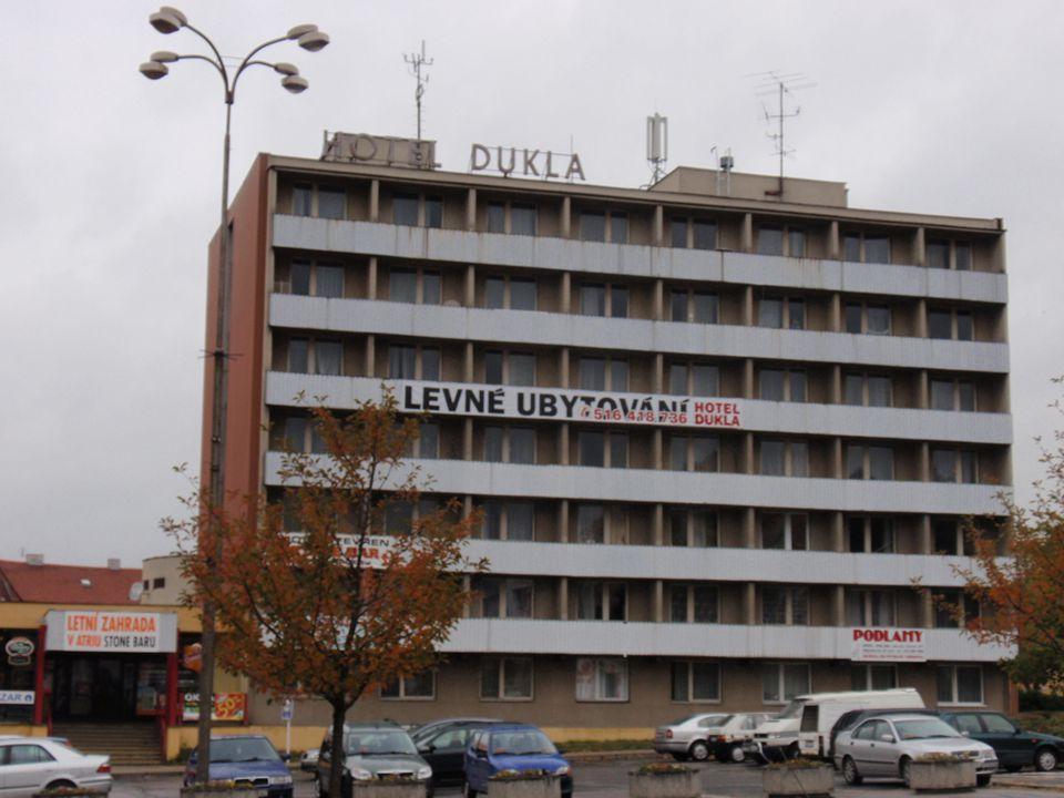 Budovy pro cestovní ruch