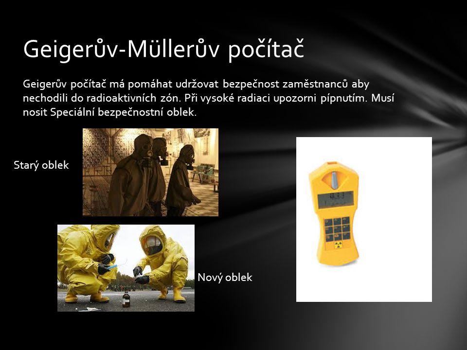 Geigerův-Müllerův počítač
