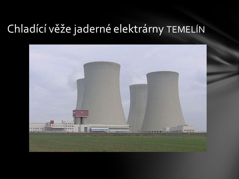 Chladící věže jaderné elektrárny TEMELÍN