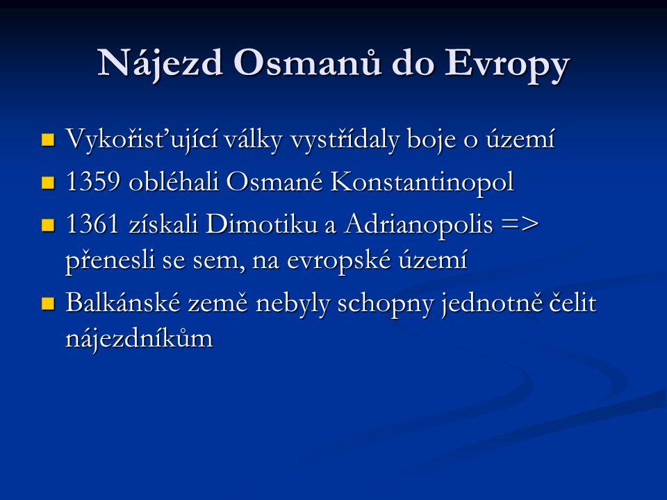 Nájezd Osmanů do Evropy