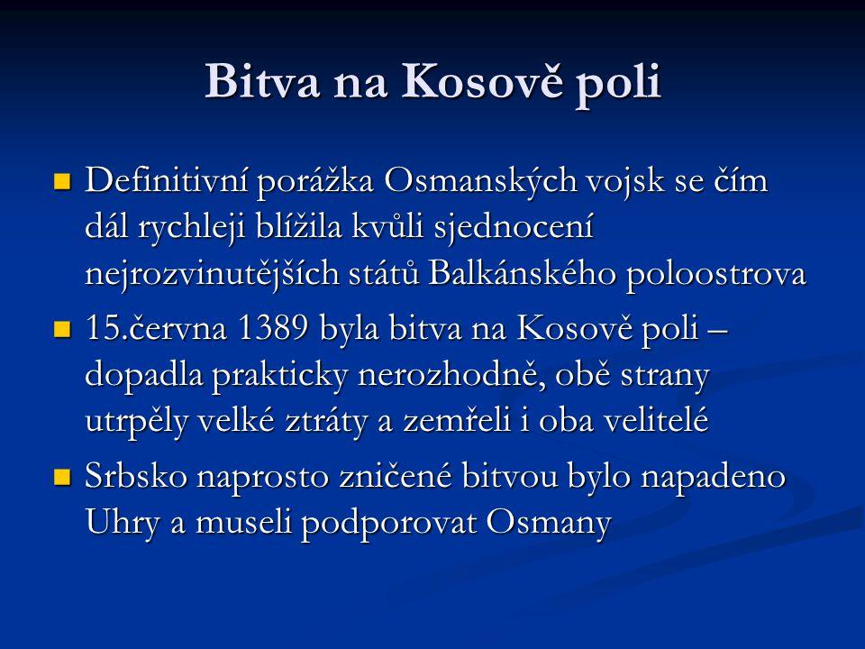 Bitva na Kosově poli