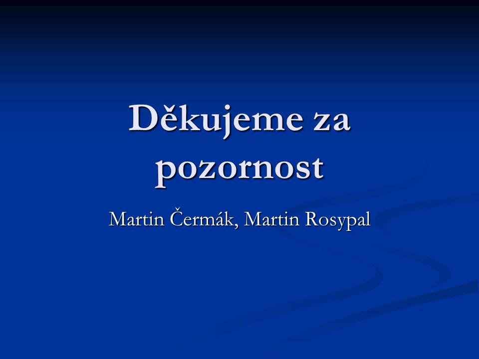 Martin Čermák, Martin Rosypal
