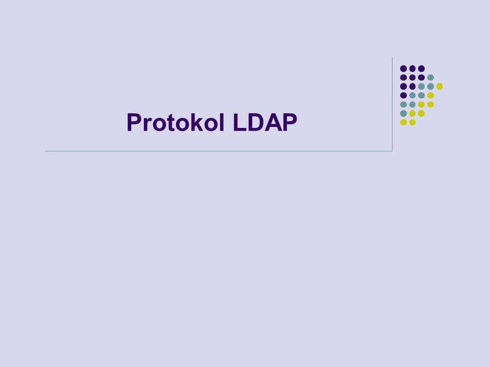 Protokol LDAP