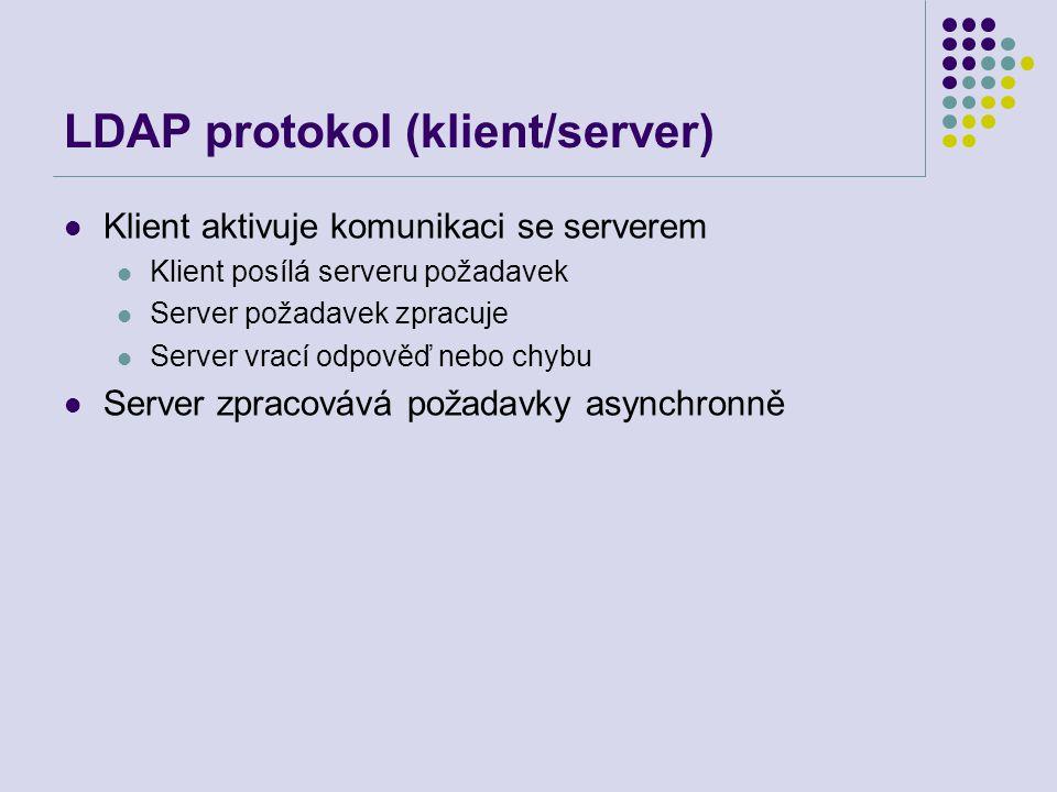 LDAP protokol (klient/server)
