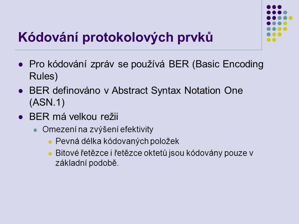 Kódování protokolových prvků