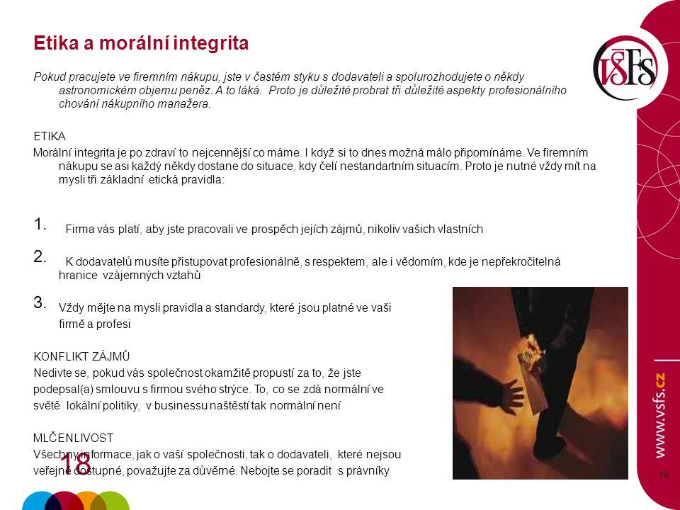 Etika a morální integrita