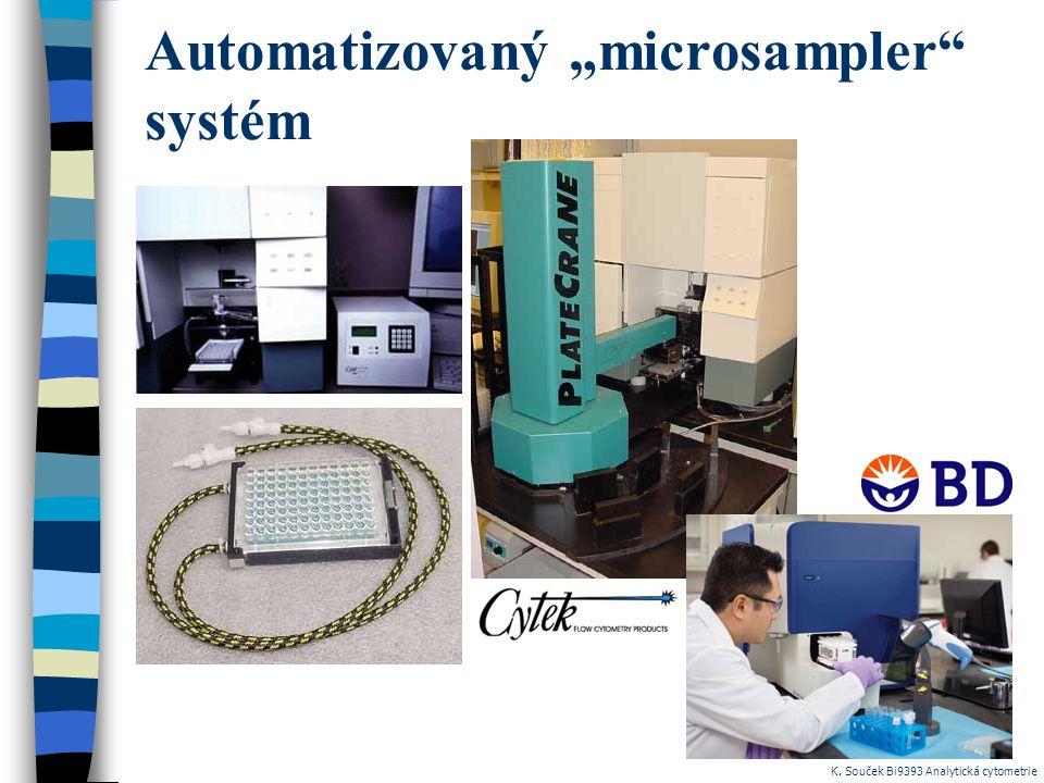 """Automatizovaný """"microsampler systém"""