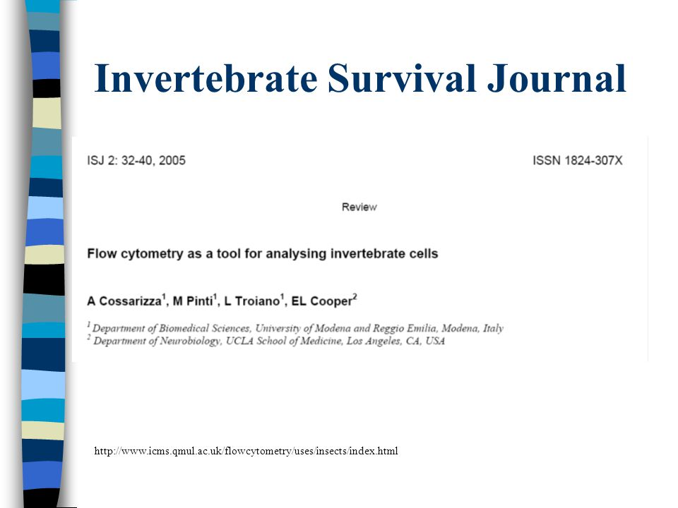 Invertebrate Survival Journal
