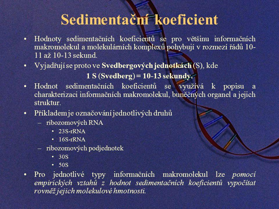 Sedimentační koeficient