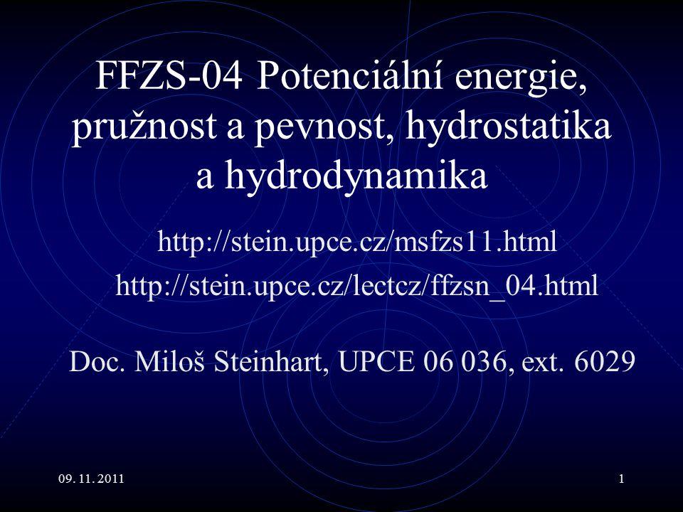 Doc. Miloš Steinhart, UPCE 06 036, ext. 6029