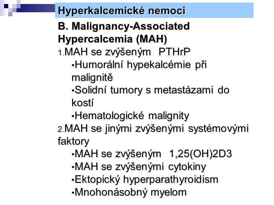Hyperkalcemické nemoci