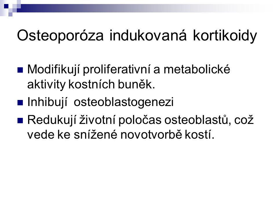 Osteoporóza indukovaná kortikoidy